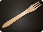 Large Wooden Fork